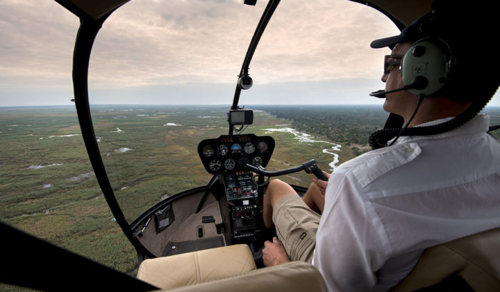 VUELOS EN HELICOPTERO - BOTSWANA - THE INDIANA TRAVEL