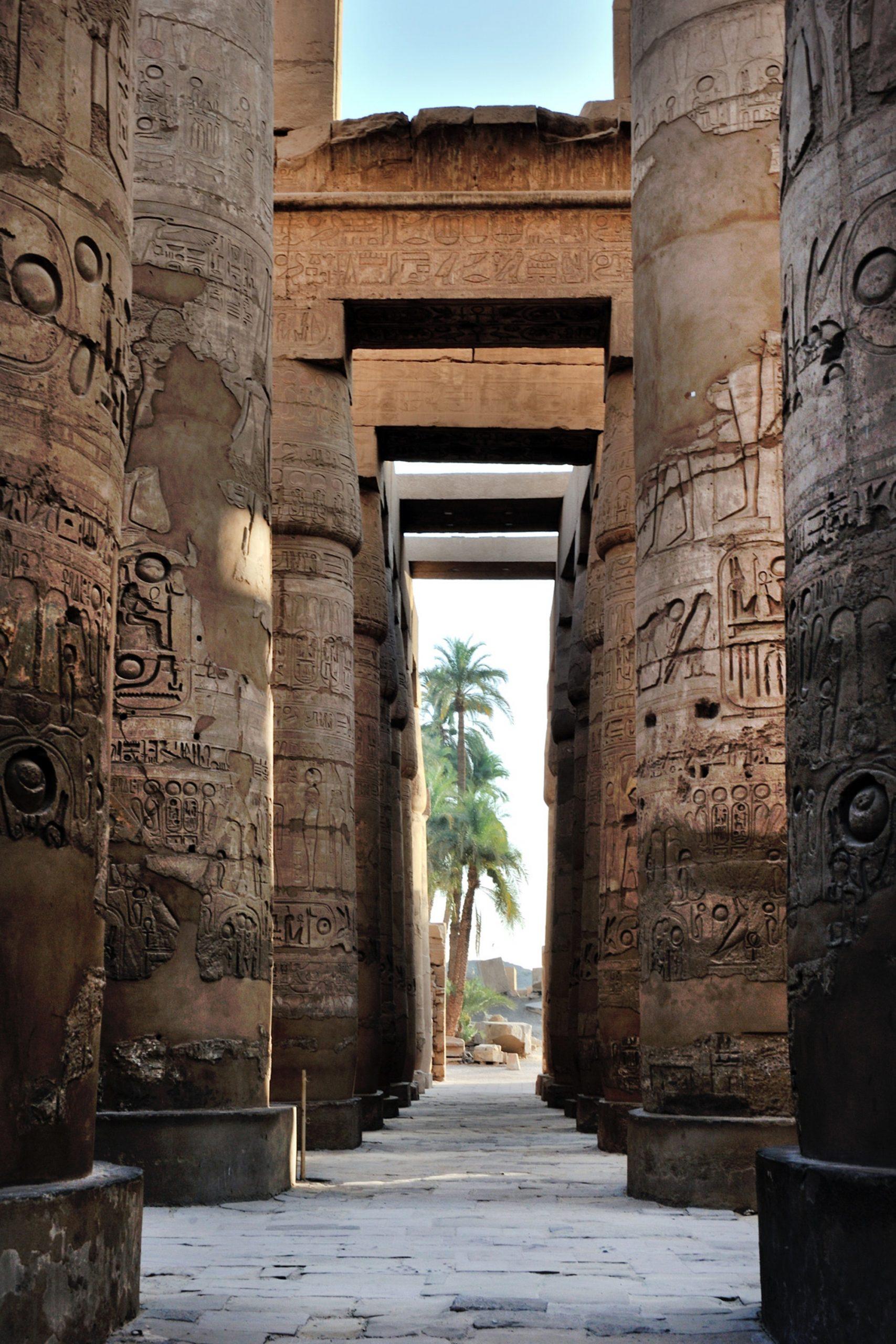 EGIPTO COLUMNAS - THE INDIANA TRAVEL
